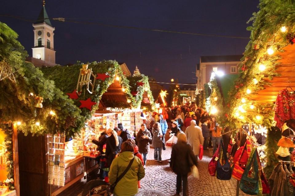Christkindlesmarkt Friedrichsplatz Karlsruhe 2019 ...