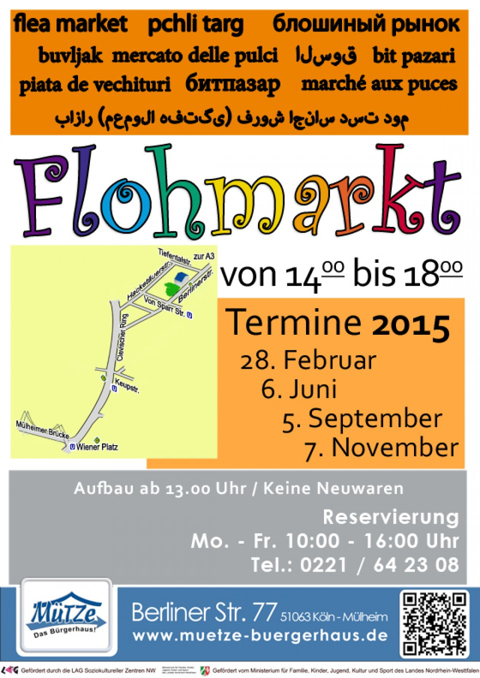 flohmarkt mülheim