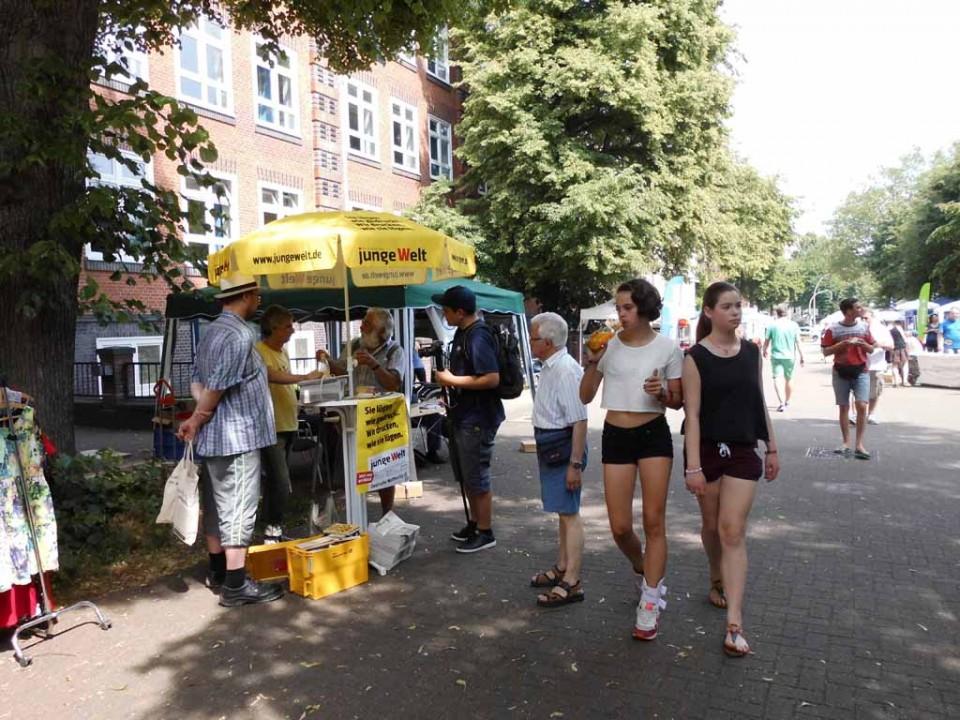 Flohmarkt Strassenfest Methfesselfest Eimsbüttel Else ...